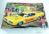 Revell '68 GTO Street Machine Plastic Model Car Kit 1:24 Scale