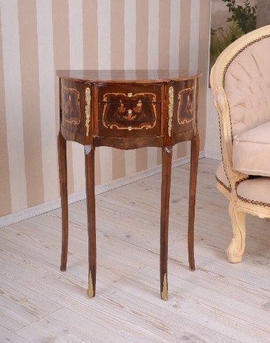 Tisch, Konsole, Konsolentisch, Tischkonsole, Wandkonsole aus Holz mit Vintage-Schnitzereien, vielseitig einsetzbar für alle Wohnräume - Palazzo Exclusive