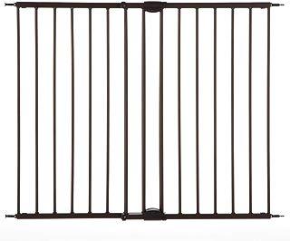 "North States Mypet 47.8"" Windsor Walk-Thru Petgate: Heavy Duty Metal Construction. Hardware Mount. Fits 28.68""-47.85"" Wide (31"" Tall, Matte Bronze)"