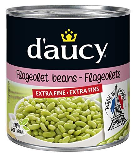 d'aucy Flageolets Extra Fin Grüne Bohnenkerne 400g*