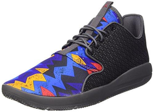 Nike Herren, Sportschuhe, Jordan Eclipse, schwarz (Black/Unvrsty rd-drk Gry-White), 42.5