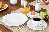 Seltmann Weiden 001.736894 Tafelservice 12-teilig Trio weiß - 4