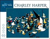 Charley Harper - Mystery of the Missing Migrants: 1,000 Piece Puzzle (Pomegranate Artpiece Puzzle)