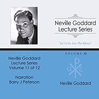 Neville Goddard Lecture Series, Volume XI audiobook cover art