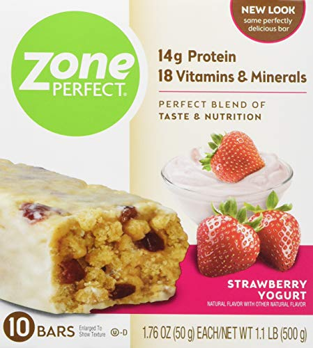 Zone Perfect Zoneperfect Protein bar Strawberry Yogurt, Strawberry Yogurt, 20 Count