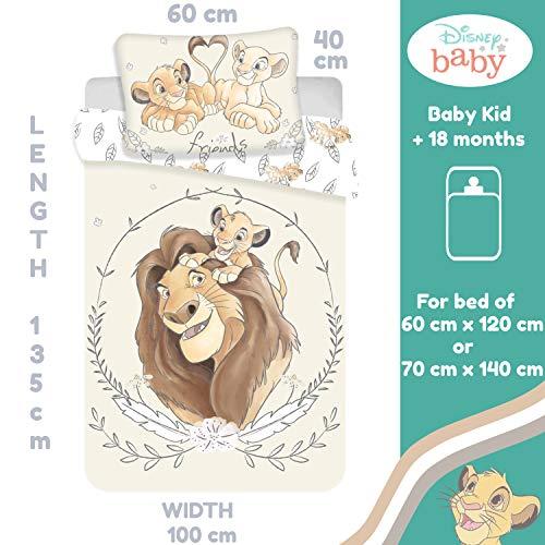 Disney Baby-Bettwäsche-Set, 100%...