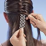 Donut Hair Bun Maker... TIMESETL Twist Haarstyling Tool 3-in-1 Haarstyle Hilfe