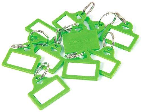 Rottner Plastic sleutelhangers Bagage ID Labels met Naam Kaarten - Groen (10 stuks)