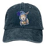 Loto fragancia de hoja Lawson The Goat Hat Unisex Elegante Deportes Ajustable Vaquero Gorra Gorra De Béisbol