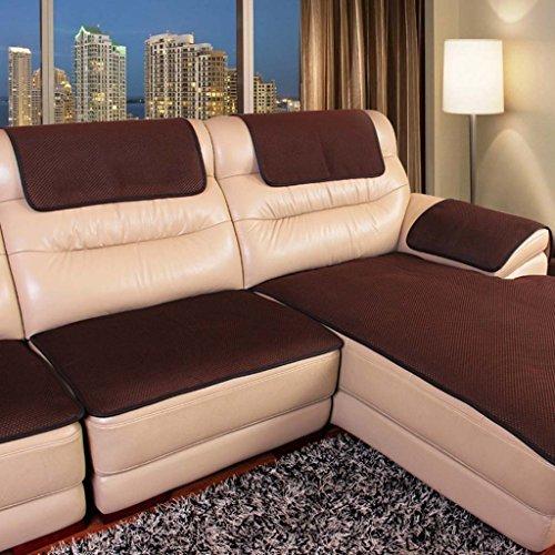 MEHE@ Romantik stilvoll Persönlichkeit kreativ Leder Sofa Kissen Anti-Rutsch Vier Jahreszeiten Gemeinsame Kissen Europäische Stoff Einfache Modern Sofa-Überwürfe (größe : 70 * 180cm)