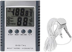 ZChun HC520 - Termómetro digital para interior y exterior (con sensor)