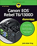 Canon EOS Rebel T6/1300D For Dummies (For...