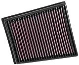 K&N KN33-3057 Sustitucin Filtro de Aire Coche, Lavable y Reutilizable
