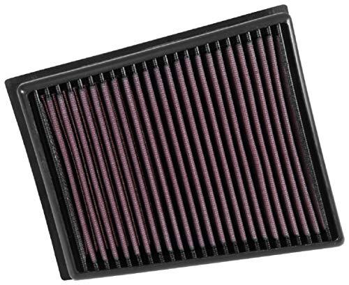 K&N 33-3057 Motorluftfilter: Hochleistung, Prämie, Abwaschbar, Ersatzfilter,Erhöhte Leistung, 2015-2019 (Megane, Scenic, Espace, Talisman, SAMSUNG SM6)