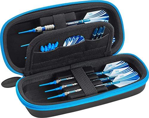 Casemaster Sentry Dartkoffer, Unisex-Erwachsene, Casemaster, Blue Zipper