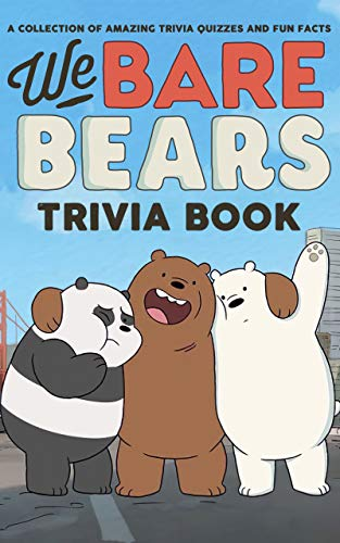 Quizzes Fun Facts We Bare Trivia Book: How Much Do You Know About Bears (Quiz Activity For Stress Relief) (English Edition)
