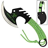 Armory Replicas Zombie Killer Skullsplitter Throwing Axe - Green