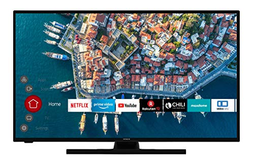 HITACHI F43E4100 109 cm (43 Zoll) Fernseher (Full HD, Smart TV, Prime Video, Netflix, Works with Alexa, Bluetooth, Triple-Tuner, PVR)