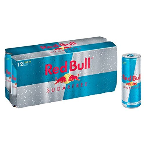 Red Bull Sugar Free Energy Drink 12 x 250ml
