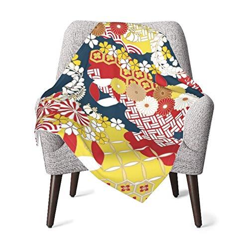XCNGG Coperte per neonati trapunte per neonati coperte per neonati Nursery Receiving Blankets Pop Japanese Pattern Background Material for New...