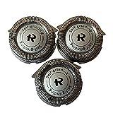 Nuevo conjunto de 3Norelco HQ8cabezales de repuesto cuchillas para...