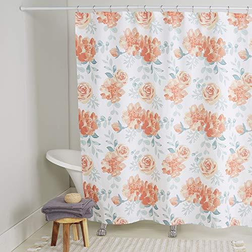 Home Dynamix Nicole Miller Rosa 100% Cotton Shower Curtain, 72