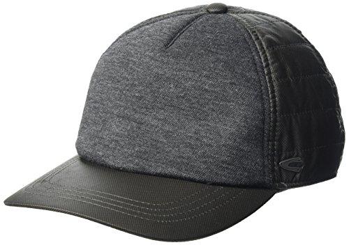 camel active Herren 406130/6C13 Baseball Cap, Grau (Dark Grey 8), Medium