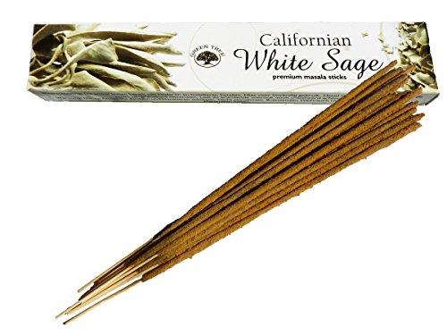 Find Something Different Bâtons d'encens naturels de Sauge Blanche de Californie - Green Tree