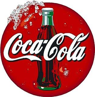 100/% Velluto di Cotone Rot CTI Rosso 85 x 160 cm Asciugamano da Bagno Coca Cola