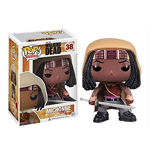 VBCGGGG The Walking Dead-Michonne Pop Figure Form Televison Collection Crossbow Brother 10CM -A