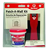 Red Devil 0549 ONETIME Lightweight Spackling Patch-A-Wall Kit, 1/2 Pint, Pack of 1, White