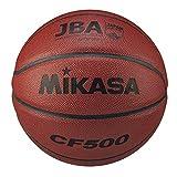 ミカサ(MIKASA) バスケットボール 5号 日本バスケットボール協会 検定球 (男子用・女子用・小学生) ミニバスケット 人工皮革 茶 CF500 推奨内圧0.63(kgf/㎠)