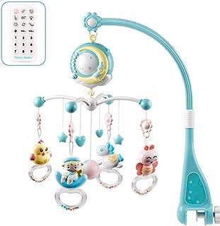 Musik Mobile Spieluhr mit Schlafmusik Baby Spielzeug Glocke Hängenden am Bett