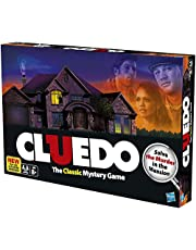 Cluedo Board Game - Classic Mystery Game,Strategy Inference Board Game Card,Detective Game