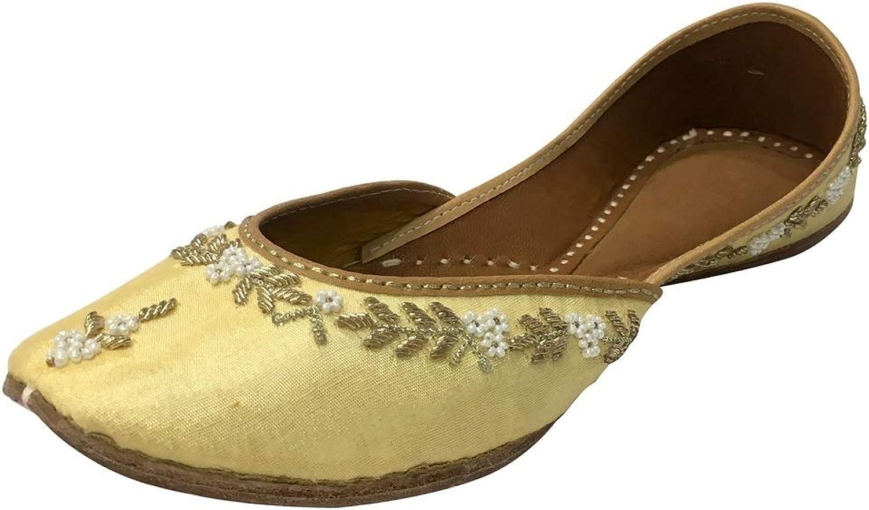 Step n Style Traditional Handmade Women shoes Leather Flipflops Mojari Jutti Khussa