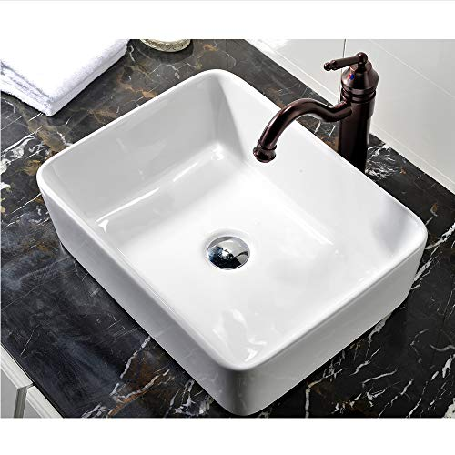 Our #2 Pick is the Vccucine Rectangle Bathroom Sink