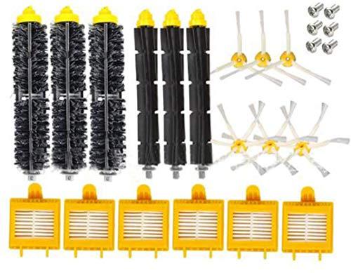 YBINGA 10 piezas de repuesto para aspiradora IRobot Roomba serie 700 760 770 780 790 (color: estilo a)