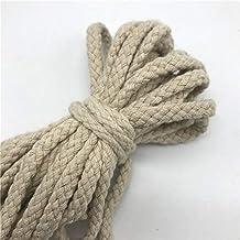 5 Yards 6 Mm Katoenen Touw Craft Decoratieve Twisted Koord Touw Voor Handgemaakte Decoratie Diy Lanyard Ficelles Couleurs ...