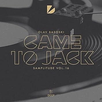 Samplitude Vol. 16 - Came to Jack