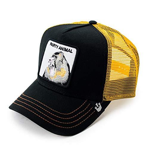 Goorin Bros Trucker Cap AFFE Party Animal Black - One-Size