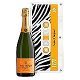 """Champagne Veuve Clicquot - Carte Jaune - Sous caissette Edition limitée""""Tape"""""""