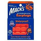 MACK'S シリコーン 耳栓 キッズサイズ 6ペア オレンジ 22dB Item # 10