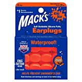 Mack's Soft Moldable Silicone Putty Ear Plugs - Kids Size, 6 Pair - Comfortable Small Earplugs for Swimming, Bathing, Travel, Loud Events and Flying