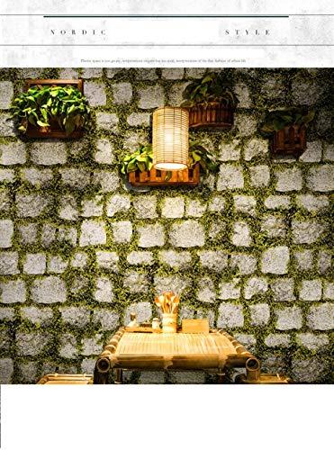 KJCJBZ Wohnzimmer Schlafzimmer Full-TV-Hintergrund 2D-Tapete einfache europäische Vliestapete Khaki-10 X0.53m (5.3 square meters)
