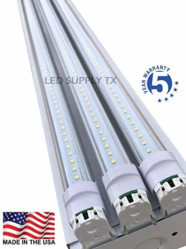 4 Foot 8550 Lumens 66 Watt LED Shoplight Room Work...
