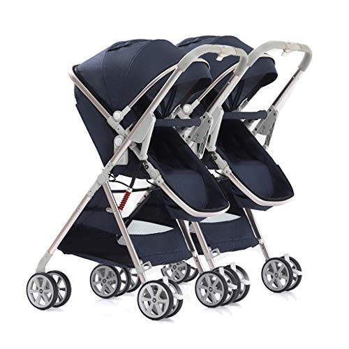 Buy Twin Baby Stroller Lightweight Folding Can Sit and Detachable Two-Way Dragon and Phoenix Second ...