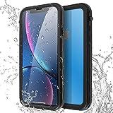AICase Custodia Impermeabile iPhone XR, IP68 Certificato Waterproof Cover Slim Caso Full Protezione Custodia Protettiva per iPhone XR 2018 (iPhone XR)