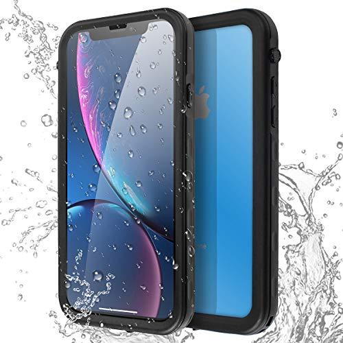 AICase Carcasa Impermeable para iPhone XR, a Prueba de Golpes, Nieve, a Prueba de Polvo, certificación IP68, Totalmente sellada bajo el Agua, Funda Protectora para iPhone XR
