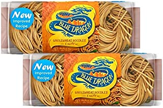 Blue Dragon Wholewheat Noodle Nests 300 gms (Pack of 2)