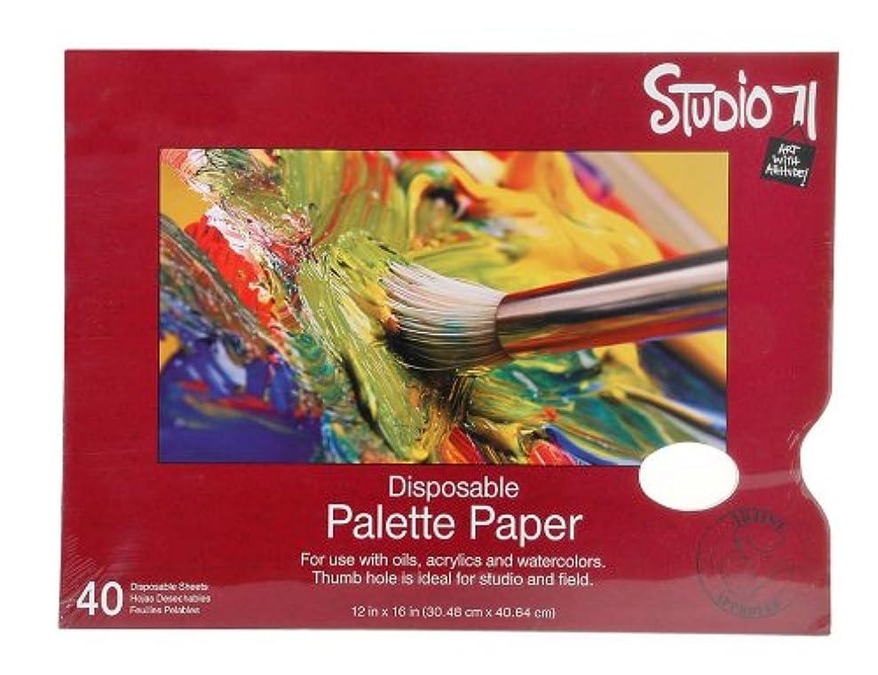 Darice Studio 71 12-Inch-by-16-Inch, 40-Sheet Palette wnpnchyny7042